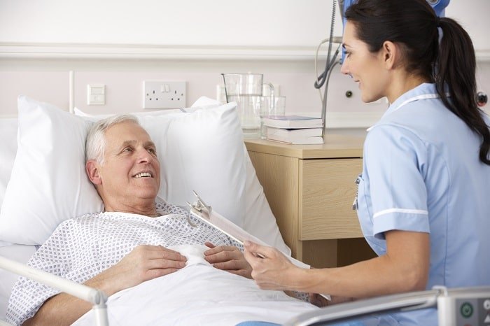 Caring of patients after a heart attack